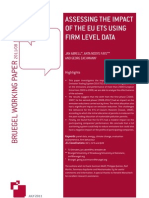 Assessing the Impact of the EU ETS Using Firm Level Data (English)