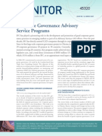 Corporate Governance Advisory Service Programs