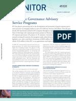 Corporate Governance Advisory Service Programs