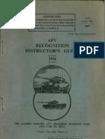 AFV Recognition Instructors Guide 1956