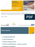 SAP Politec NF-e Webinar 20100512