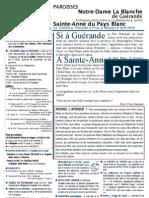 Bulletin SAPB&NDLB 110717