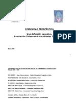 Comunidades Terapeuticas Asoc Chilena CT