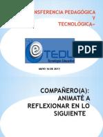 TRANSFERENCIA PEDAGÓGICA - copia