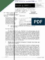 Best Buy Letter to Court Regarding Injunction