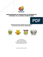 Informe de Indicadores de Seguridad Depart Amen To de Chiquimula Febrero 2009