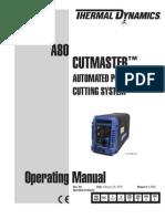 0-4985 A80 Operator's Manual