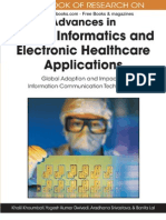 Handbook of Research on Advances in Health tics and Electronic Healthcare Applications, 1st Edition