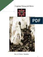 Kodeks Legionu Nioscych Slowo - Wersja-5.0
