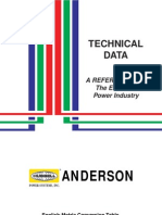 Anderson Electric Engineering Data