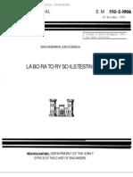 Labotary Soil Testing