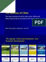 Greg Clark APAC City Summit July 2011 FINAL