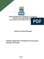 Estudo comparativo de funções de Green para Detecção de Arestas-Filtro de Green