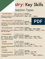 Chemistry - Key Skills