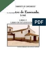 Carcaboso Catastro de Ensenada 1752. Libro 5