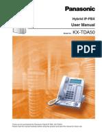 TDA 50G User Manual