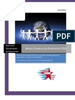 Kentucky Model Curriculum Framework 2011