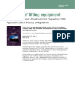 l113 Safe Use of Lifting Equipment
