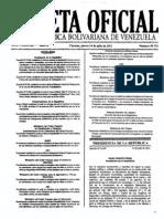Gaceta Oficial - Nro. 39713 - 14JUL11