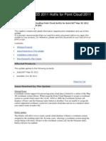 2011 Autodesk Point Cloud