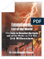 Imninent End of  the world In this 3rd Millennium,whether we like it or not! God has spoken!