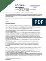 Decreto 51766 de 19-4-2007 - Estadual de a