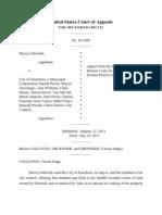 Edwards v City of Jonesboro, No. 10-2405P (8th Cir. July 15, 2011)
