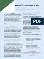 Resum PFC Diseño de una Web sobre teoria de colas