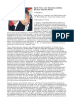 Macri, Filmus y las elecciones porteñas decálogo para una derrota