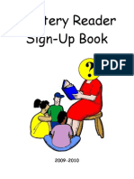 Mystery Reader Sign Up 09-10