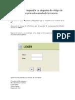 Manual Codebar