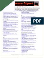 Healthcare Digest Newsletter by Jim Bloedau of Information Advantage Group