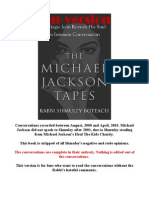 Michael Jackson Tapes Book - Fan Edition