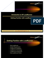 Introduction to Hp Load Runner Getting Familiar With Load Runner 4046