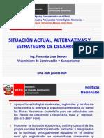 09061001ViceMinistroFernandoLaca-SituacionActualAlternativas