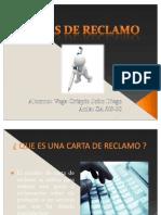 CARTA DE RECLAMO