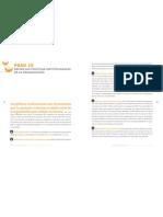 Paso 15 Define Las Políticas Institucionales De La Organización