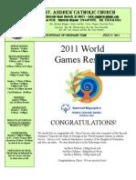 July 17, 2011 Bulletin
