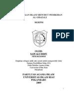 Skripsi Swaluddin Pendidikan Islam Dalam Pemikiran 15-07-1984