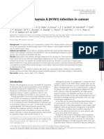 Severe Novel Influenza a (H1N1) Infection in Cancer