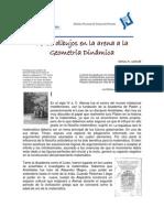 02 de Los Dibujos en La Arena a La Geometria Dinamica