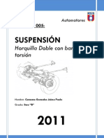 INFORME Suspension