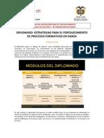 Convocatoria y ficha de inscripción Diplomado IPC Julio 2011