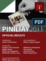 Piniliay 2011