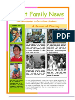 Summer Newsletter 2011