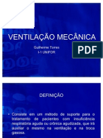 VENTILAÇÃO MECÂNICA