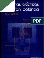 Weedy B M - Sistemas Electricos de Gran Potencia