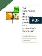 Exportacin de Productos Tradicionales y El Impacto en La Economa de Hondurasfabri