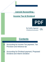 Income Tax Dividend