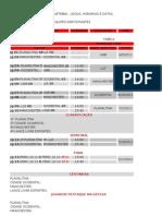Tabela Atualizada Copa Entorno-df